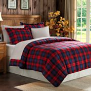 Premier Comfort Maclachlan Plaid Down-Alternative Comforter Set - King