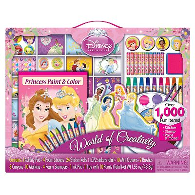 Disney Princess World of Creativity Art Set