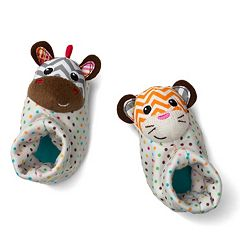 infantino Animal Foot Rattles