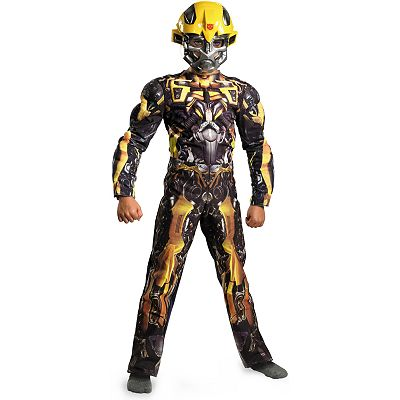 Transformers 3: Dark of the Moon Bumblebee Classic Muscle Costume - Toddler/Kids'