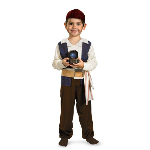 Disney Pirates of the Caribbean 4: On Stranger Tides Jack Sparrow Costume - Infant/Toddler