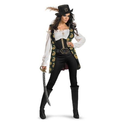 Disney Pirates of the Caribbean 4: On Stranger Tides Angelica Deluxe Costume - Adult