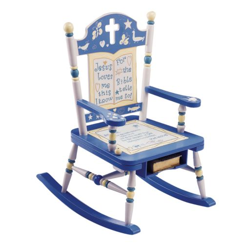 Levels of Discovery Rock of Ages Bible Rocking Chair