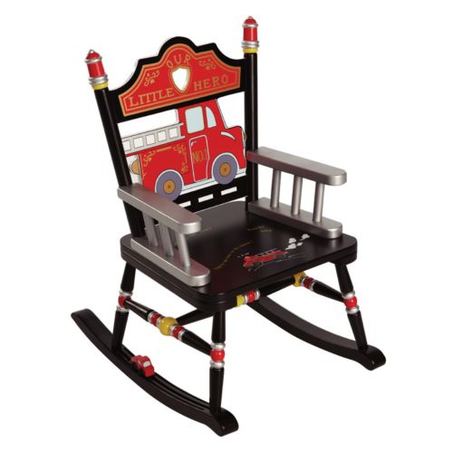 Levels of Discovery Fire Engine Rocking Chair
