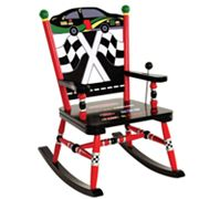 Levels of Discovery Race Car Rocking Chair