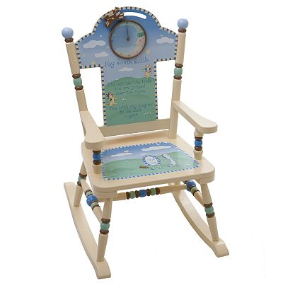 Levels of Discovery Nursery Rhyme Rocking Chair