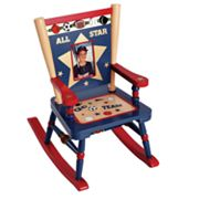 Levels of Discovery All Star Sports Mini Rocking Chair