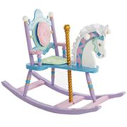 Levels of Discovery Kiddie-Ups Carousel Rocking Horse