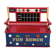 Levels of Discovery All Star Sports Storage Bench