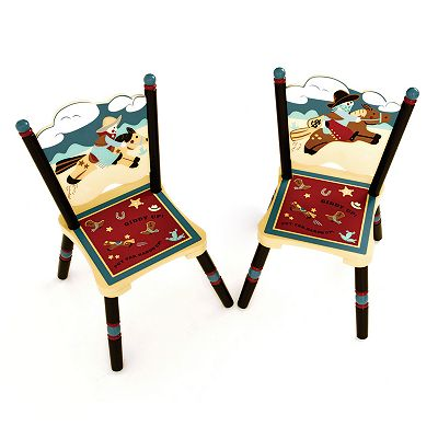 Levels of Discovery Wild West Chair Set