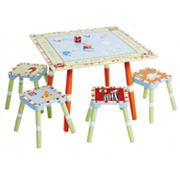 CoCaLo Baby Alphabet Soup Table and Stool Set by Levels of Discovery