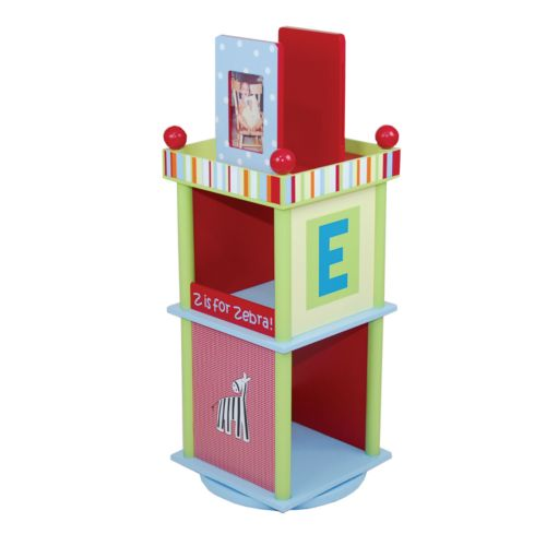 CoCaLo Baby Alphabet Soup Revolving Bookcase by Levels of Discovery