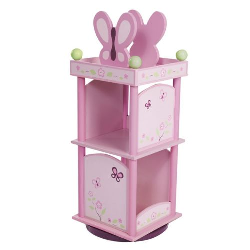 CoCaLo Baby Sugar Plum Revolving Bookcase by Levels of Discovery