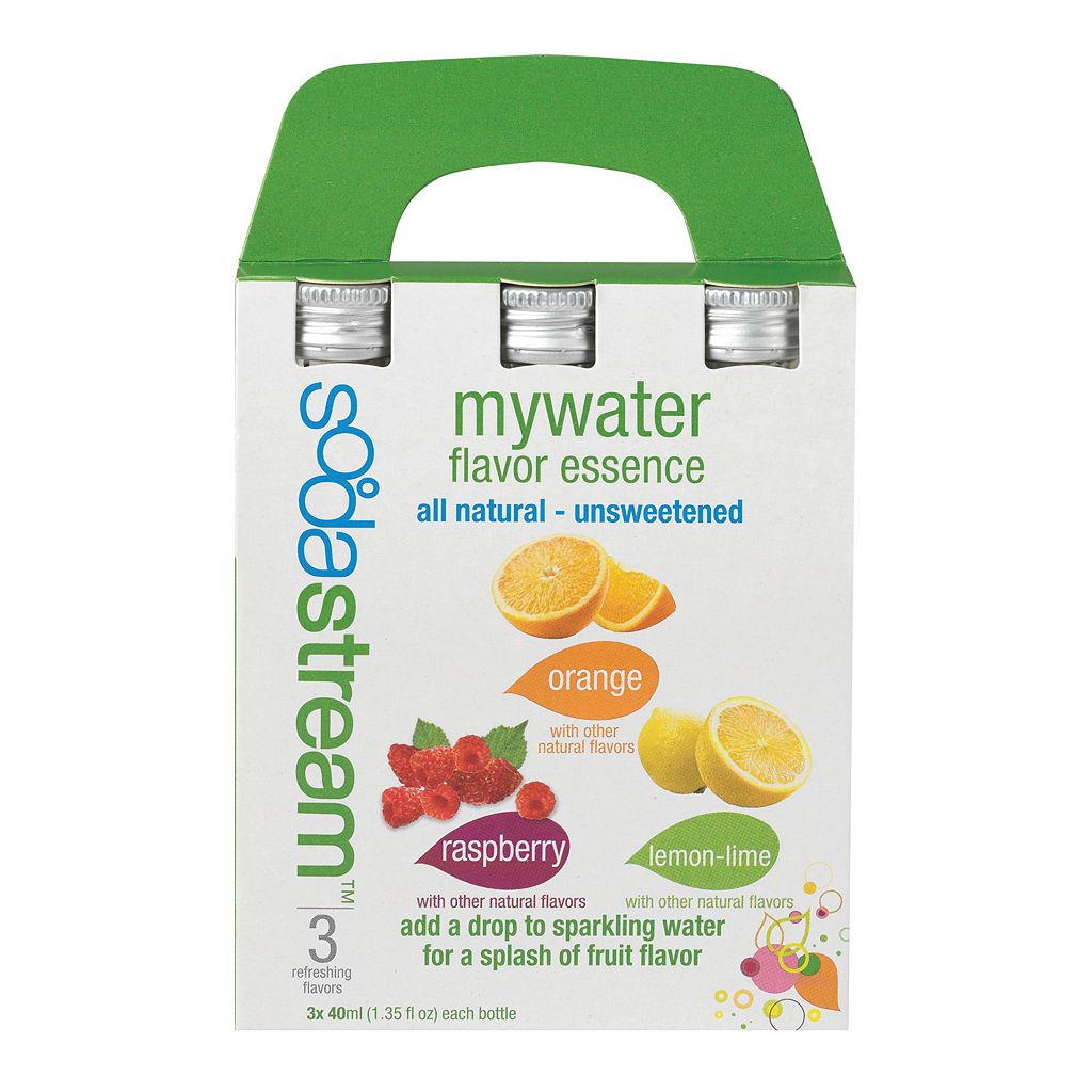 SodaStream MyWater Flavor Essence Variety Pack