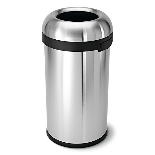simplehuman Bullet 16-Gallon Trash Can