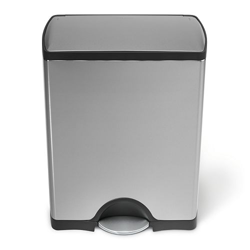 simplehuman 13-Gallon Rectangular Step Trash Can