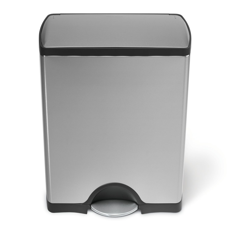 simplehuman 13gallon rectangular step trash can - 13 Gallon Trash Can