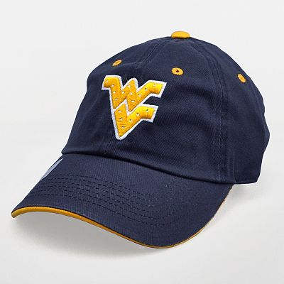 West Virginia Mountaineers Embellished Baseball Cap