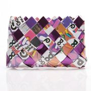Nahui Ollin Arm Candy Baby Cakes Good and Plenty Candy Wrapper Wristlet