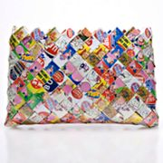 Nahui Ollin Arm Candy Sweet Cheeks Dubble Bubble Gum Wrapper Wristlet