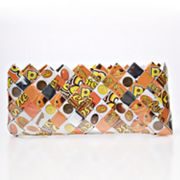 Nahui Ollin Arm Candy Reeses Pieces Candy Wrapper Clutch