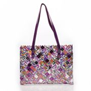 Nahui Ollin Arm Candy Good and Plenty Candy Wrapper Tote