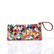 Nahui Ollin Arm Candy Tutti Frutti Candy Wrapper Clutch