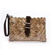 Nahui Ollin Arm Candy Honey Dew Leopard Candy Wrapper Cross-Body Bag