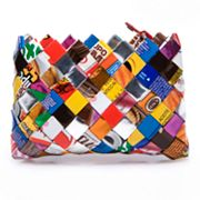 Nahui Ollin Arm Candy Camera Bag Tutti Frutti Candy Wrapper Wristlet