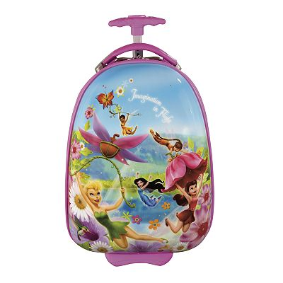 Disney Fairies by Heys USA Luggage, 18-in. Hardcase Wheeled Carry-On - Kids Luggage