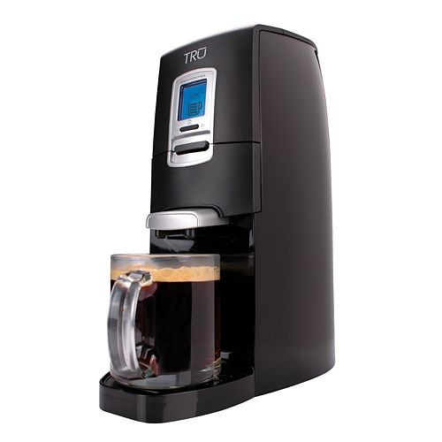 Kohl s: TRU Single Serve Coffee Maker USD 42.98 Shipped