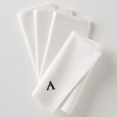 Food Network 4-pk. Monogram Napkins