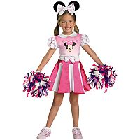 Disney Mickey Mouse Clubhouse Minnie Mouse Cheerleader Costume - Toddler/Kids