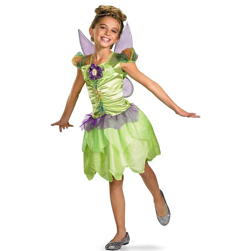 Disney Fairies Tinker Bell Rainbow Classic Costume - Kids (Multicolor)