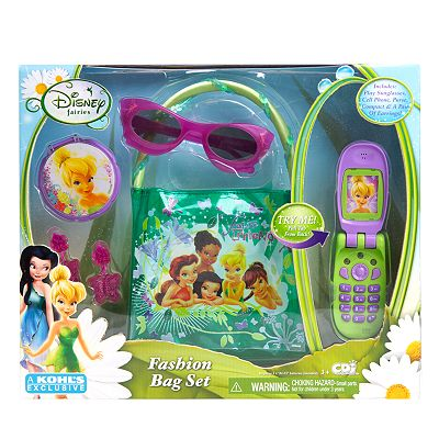 Disney Fairies Cell Phone and Fashion Bag Set