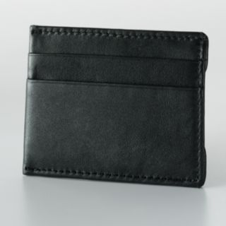 Buxton Leather Magnetic Money Clip