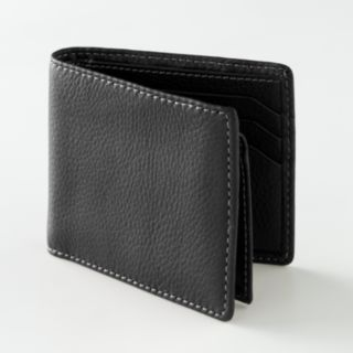 Buxton Leather Bifold Wallet