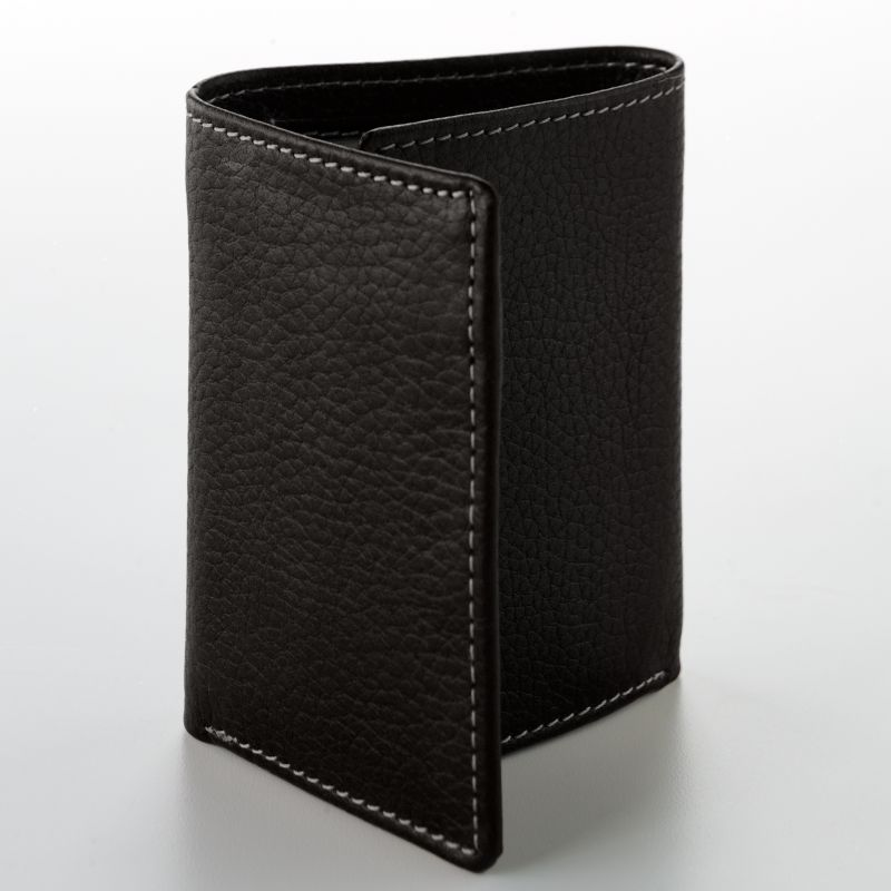 Buxton Leather Trifold Wallet, Men's, Black