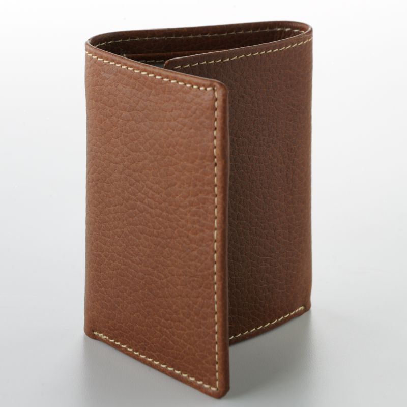 Buxton Leather Trifold Wallet, Men's, Brown