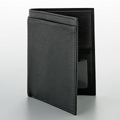 Buxton Leather Passport Wallet