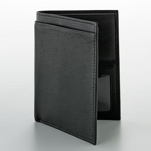 Buxton Leather Passport Wallet