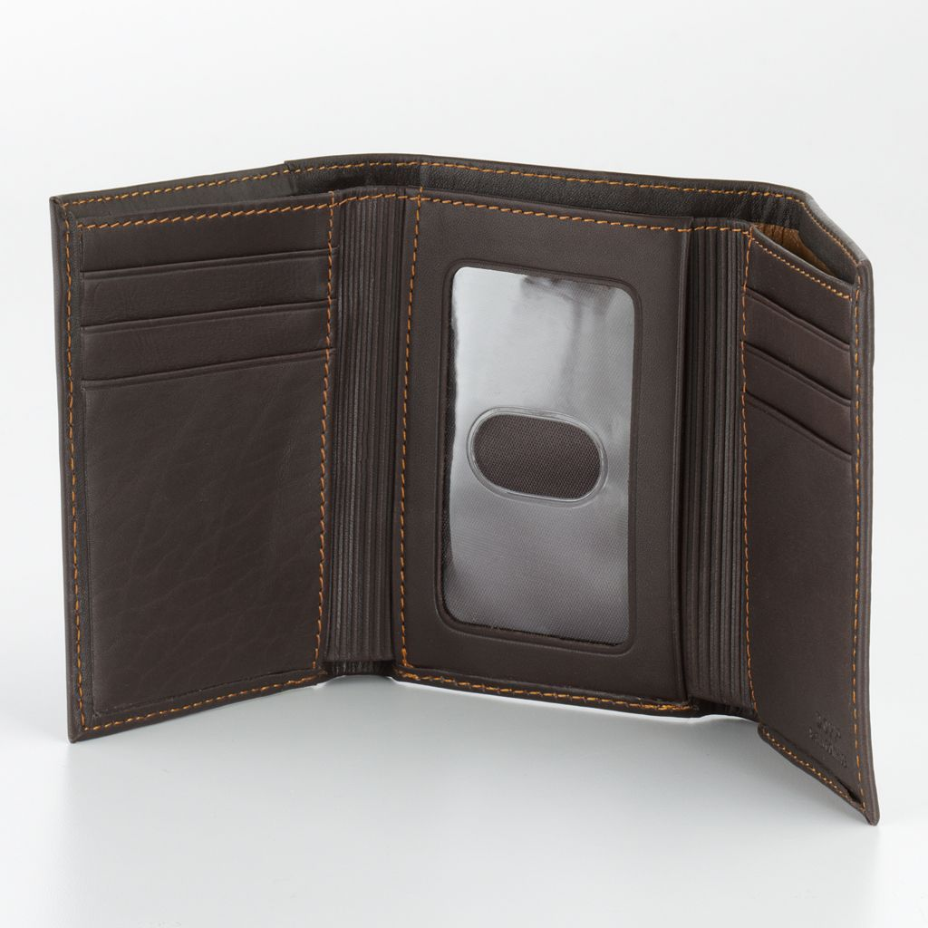 DOPP Leather Trifold Wallet