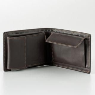 DOPP Leather Convertible Bifold Wallet