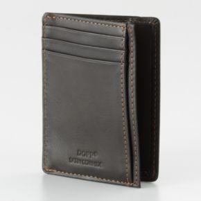 DOPP Get-Away Leather Front Pocket Wallet