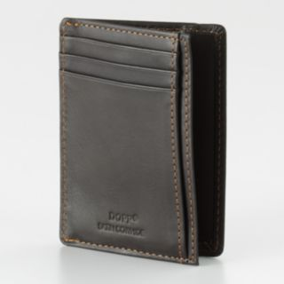 DOPP Get-Away Leather Front Pocket Wallet