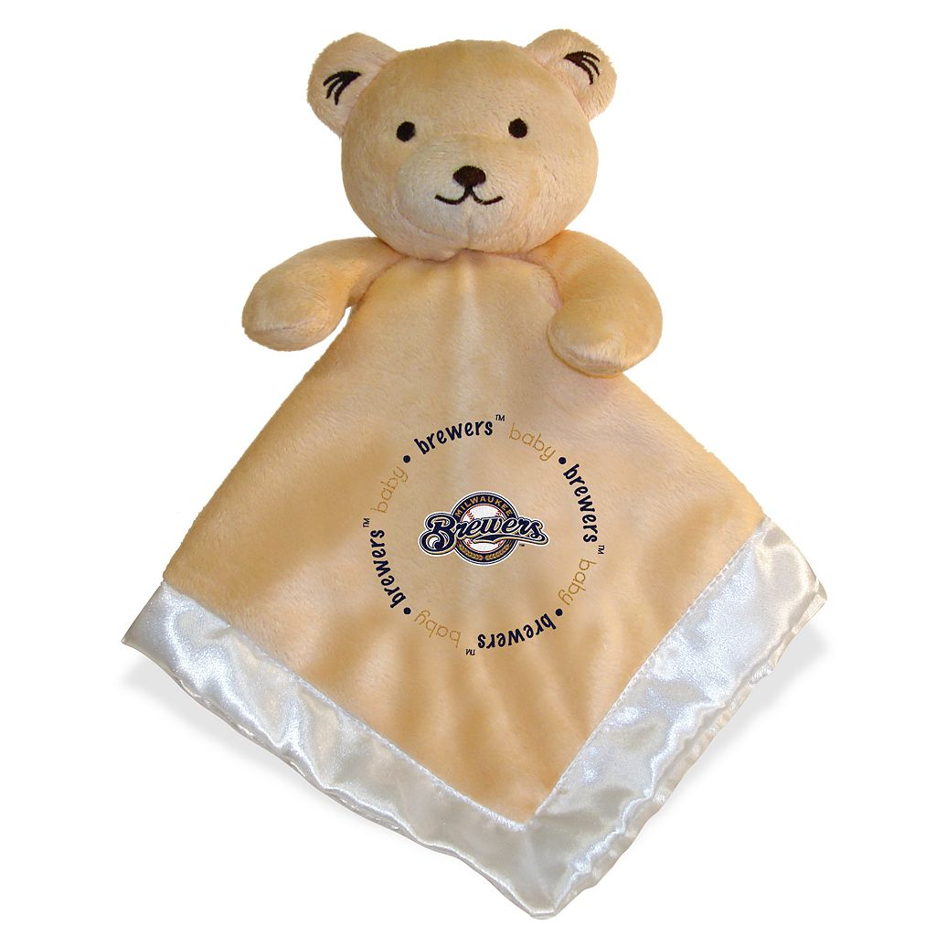 Baby Fanatics Milwaukee Brewers Snuggle Bear Blanket