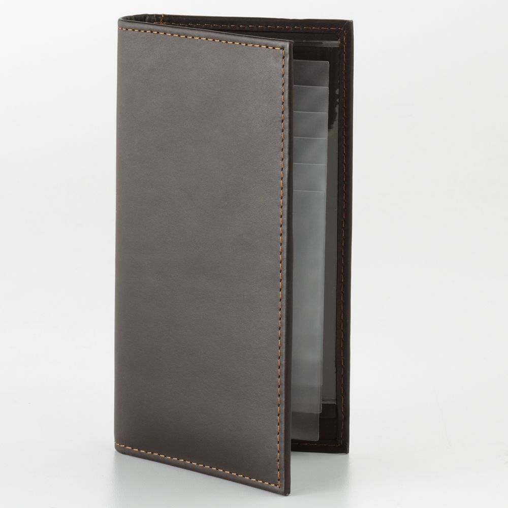 DOPP Leather Checkbook Wallet