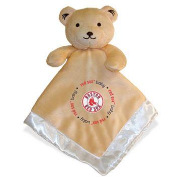 Baby Fanatics Boston Red Sox Snuggle Bear Blanket
