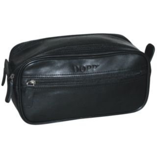 DOPP Milan Soft-Sided Leather Travel Kit