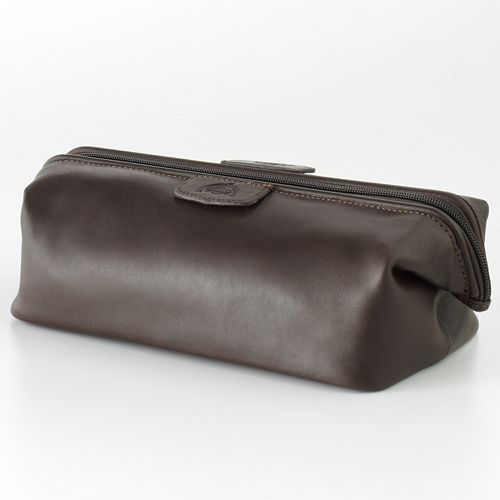 DOPP Admiral Leather Travel Kit